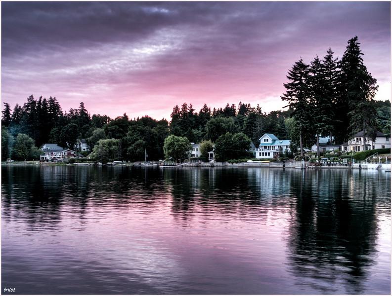 """24. """"Summer dusk in Kingston"""" by Deevee."""