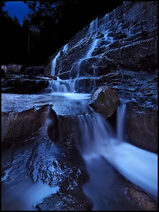 11. Beckett's Creek Falls under Twilight, by ZuikoGuy. 9/1/07, E-1.