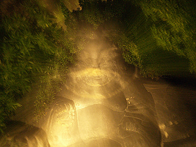 12. Glowing Buddha, by ama.  9/12/07, E-500.