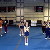 Practice at University Cheer prior to competition.
