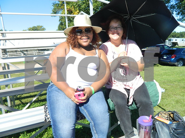 Left to right: Stacy Henderson and Briana Ptrimmer