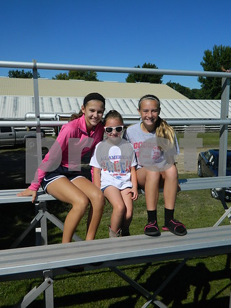 Left to right: Olivia Bork, Hannah Berry, and Karlee Grove