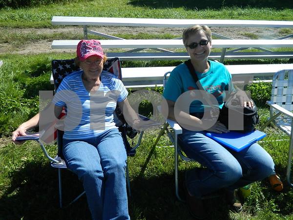Left to right: Lema Kalahar, and Cathy Nyren