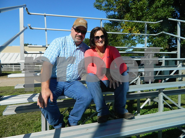 Scott Chesmore and Amy Webb