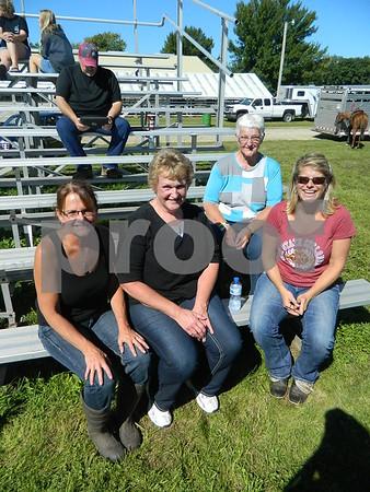Left to right: Nikki Hanna, Diana Beuloch, Rosie Laobs, Kristy Teogue