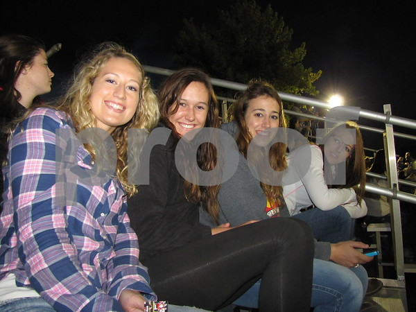 Chelsi Lanus, Shelby Schindler, Sarah Groff, and Kayla Hurley attended the Triton Stampede held at Webster County Fairgrounds.