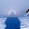 ABL-TTC-Lynne Pomare-Brocken Spectre angel, Field Peak, 31 July 2013