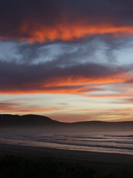 BBL-TTC-Jane Boydon-Sunrise, The Catlins