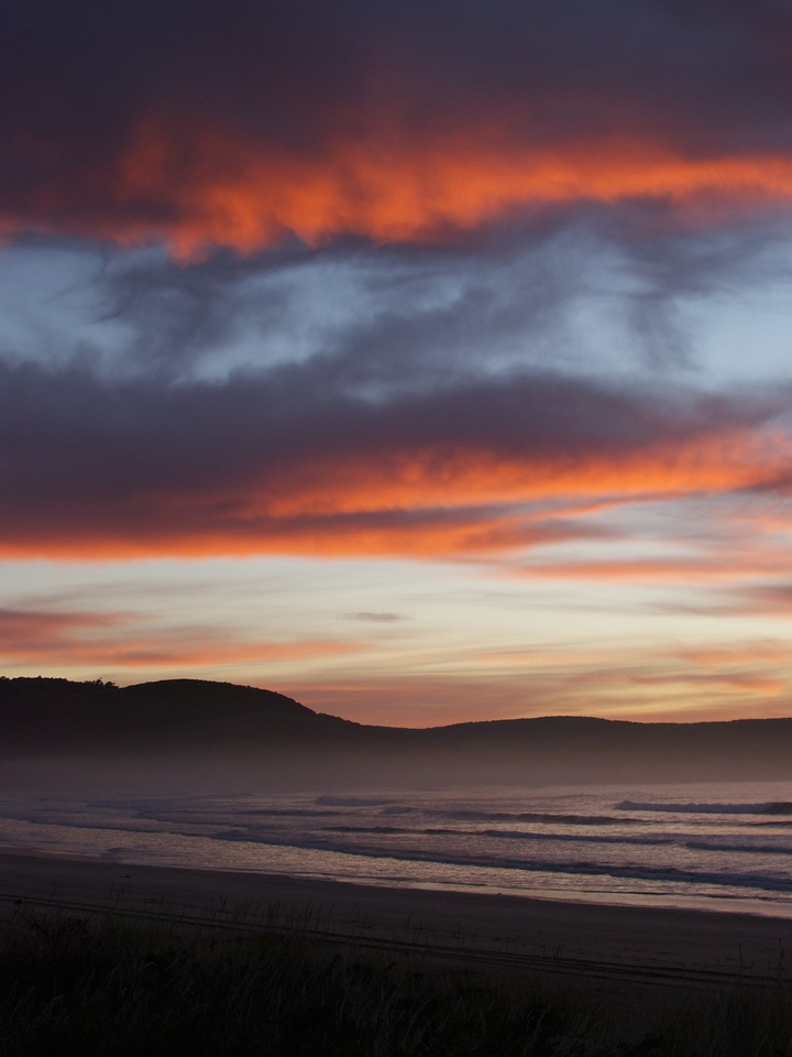 BBL-TTC-Jane Boydon-Sunrise, The Catlins