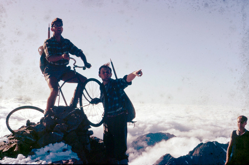 HIS-TTC-Bill Wheeler-Up to Rolleston, Arthur's Pass National Park, taken Easter 1965