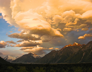 Fantastic! (Outdoor Landscapes) Evening skies in Mt Cook village