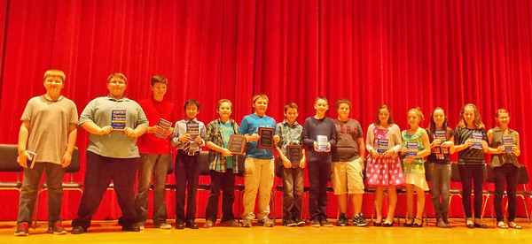 In no particular order, the students who participated in the Oley Valley Spelling Bee were Hollie M. Bower, Coby L. Conrad, Matthew C. Conrad, Kevin C. Dittman, Madisyn P. Evans, Kyle E. Eckroth, Trent M. Heflin, Jasmyn A. Moore, Dennis F. Mundy, Emily R. Nye, Kyle H. Olszewski, Olivia M. Patches, Paige L. Rohrbach, Andrew D. Schaeffer, Andraya P. Schlotzhauer, Ryan P. Sheetz and Sierra K. Souders.