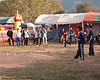 Late Afternoon Tujlub Competition In Laos During Hmong New Years Festival