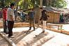 A Game Of Petanque in Vientiane, Laos