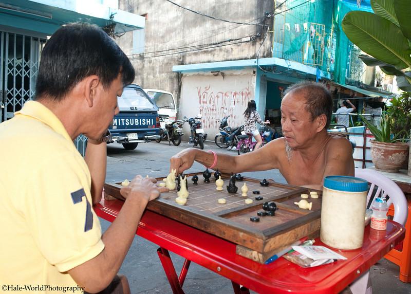Making His Move In Bangkok