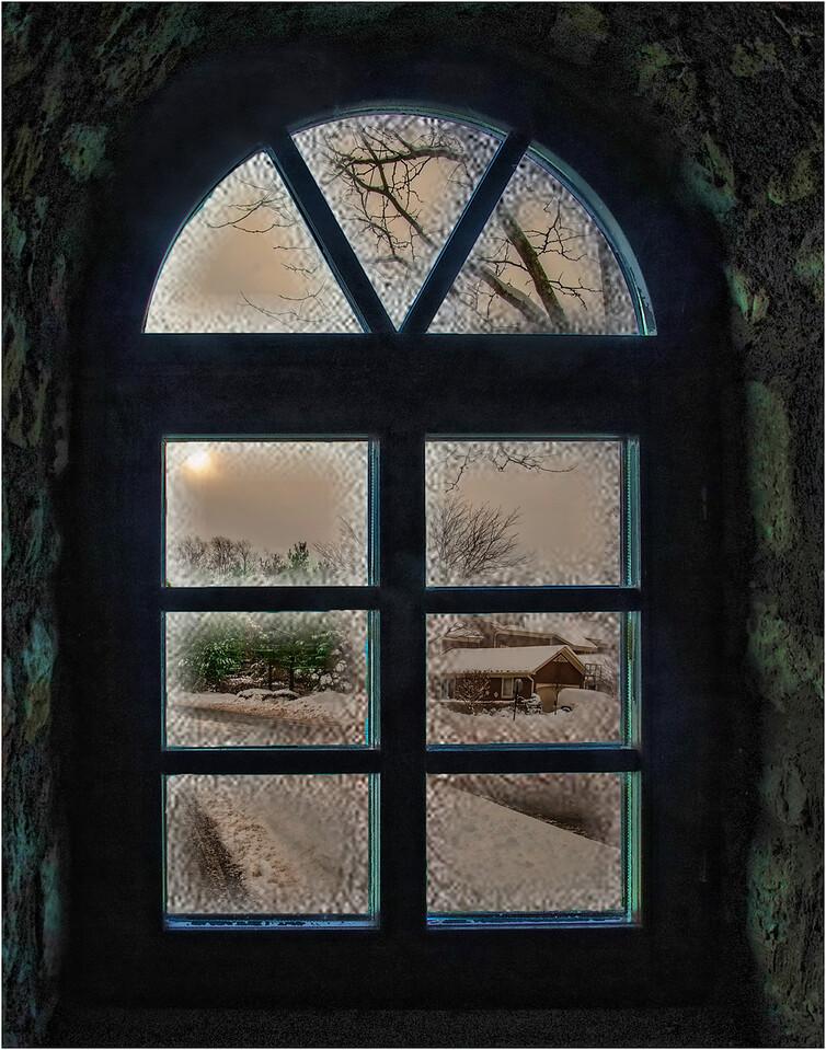 4. Frosty Winter Window