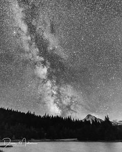 Milky Way over Mt. Hood