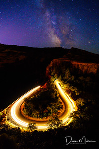Rowena Crest Car Trail and Milky Way, Oregon