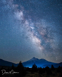 Mt Shasta Milky Way