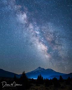 Mt Shasta Milky Way