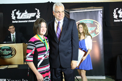 Hannah Fowler and Dr. Paul Sanberg