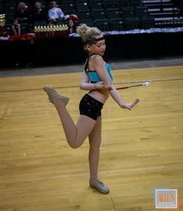 USTA Ohio State Baton Dance Twirl