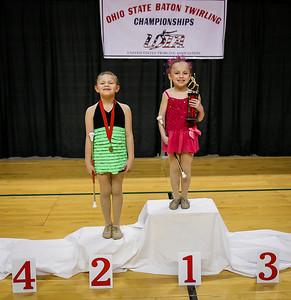 USTA Ohio State Twirling Awards