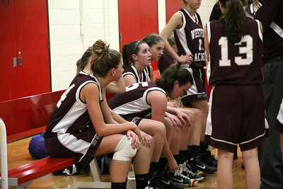 W.A. GIRLS VAR B.B. @ WALTHAM #2 1-17-2012