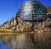 Contest Name: Bizarre Architecture<br /> <br /> Placed Germany's Reichstag building onto the side of a hill.