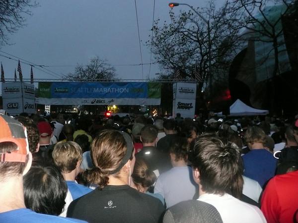 Walking 1/2 Seattle Marathon 11/30/08