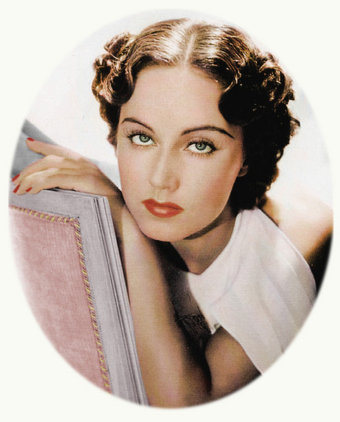 Fay Wray (colorized image)