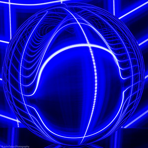 Light Warp in Blue