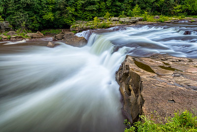 Ohiopyle Falls in late Summer