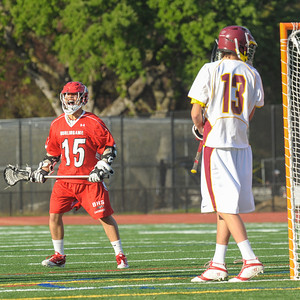 Menlo Atherton High School Varsity Men Lacrosse vs. Burlingame High, 2013-04-12