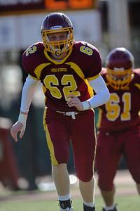 Menlo Atherton High School Varsity Football vs. Salinas 2011-11-25