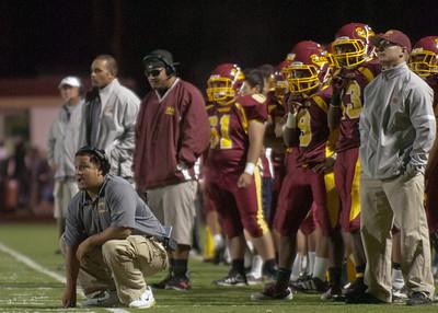 Menlo Atherton High School Varsity Football vs. St. Ignatius High School 2011-09-16