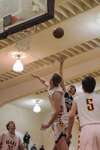 Carlmont High Varsity Boy's Basketball vs. M-A  2014-02-07