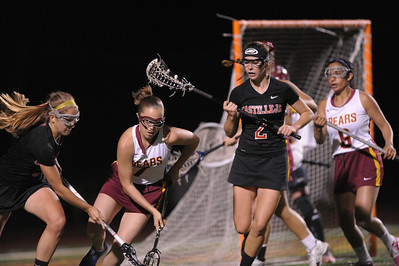Menlo Atherton High School Varsity Women Lacrosse vs. Castilleja School, 2013-04-12