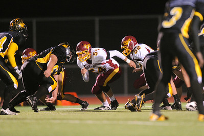 Menlo Atherton High School Varsity Football vs.Terra Nova 2011-11-04