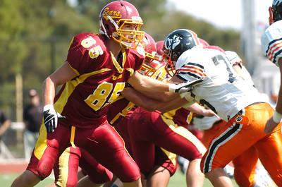 Menlo Atherton High School vs. Los Gatos High, Varsity Football, 2011-09-10