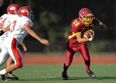 Menlo Atherton High School vs. El Camino High, Junior Varsity Football, 2011-09-02