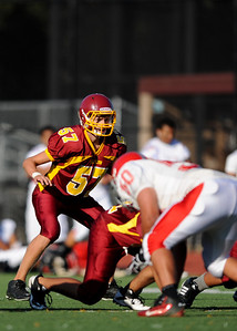 Menlo Atherton High School vs. El Camino High, Junior Varsity Football, 2011-09-02