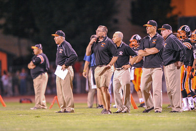 Menlo Atherton High School Varsity Football vs. Los Gatos High, 2012-09-08
