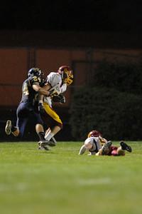 Menlo Atherton High School Varsity Football vs. King's Academy 2011-10-14