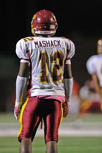 Menlo Atherton High School Varsity Football vs. Burlingame High School 2011-10-06