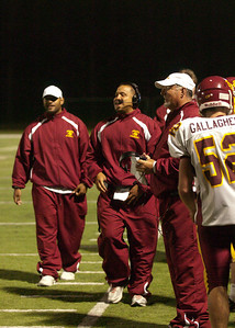 Menlo Atherton High School Varsity Football vs. Half Moon Bay High School 2011-09-23