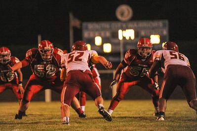 Menlo Atherton High School Varsity Football vs. El Camino High, 2012-08-31