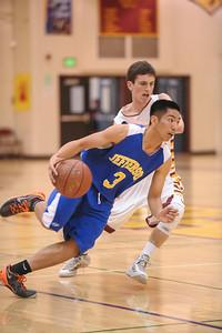 Menlo-Atherton High Varsity Men's Basketball vs.Jefferson High, 2014-01-18