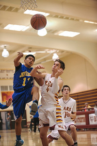 Menlo-Atherton High Varsity Men's Basketball vs.Jefferson High, 2014-01-18