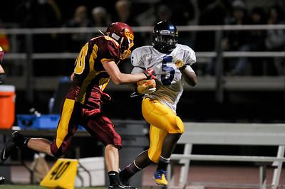 Menlo Atherton High School Varsity Football vs.Jefferson High School 2011-10-21